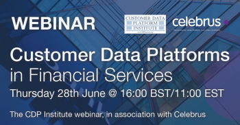 Webinar: Customer Data Platforms in Financial Services